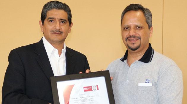 GM Complejo San Luis Potosí obtiene la certificación ISO 50001