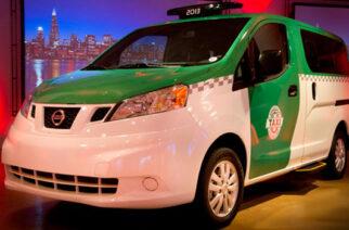 Nissan presenta el Taxi NV200 en el Auto Show de Chicago