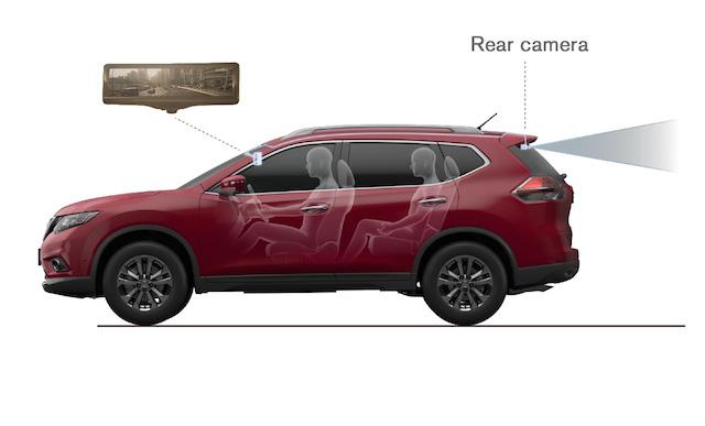 "Nissan desarrolla el ""Espejo Retrovisor Inteligente"""