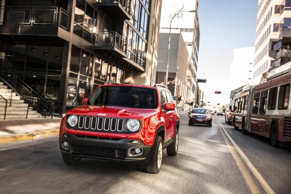 """""""Renegado"""", compacto y potente – Jeep"""