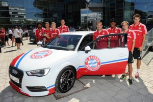 Neue Audi-Modelle fuer den Triple-Sieger