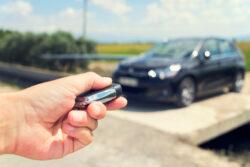 ¿Cómo funcionan las llaves inteligentes en de los autos?