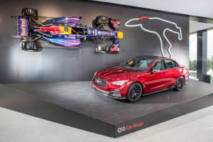 A festival of Infiniti at Goodwood