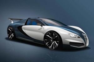 Bugatti-Rendering