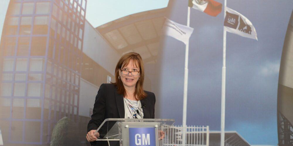 Visita México Mary Barra, CEO de General Motors Company