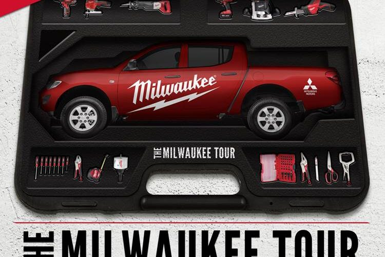 Mitsubishi Motors México y Milwaukee Tools presentan The Milwaukee Tour con Mitsubishi L200