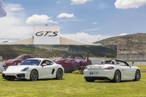 Presentación Boxster GTS y Cayman GTS