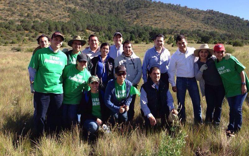 Fundación Chrysler, I.A.P. y Pronatura Noreste AC  realizaron una jornada de reforestación en el Estado de Coahuila.