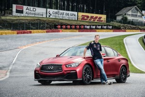 Sebastian Vettel, Infiniti?s Director of Performance and four-time Formula One World Drivers? Champion for Infiniti Red Bull Racing