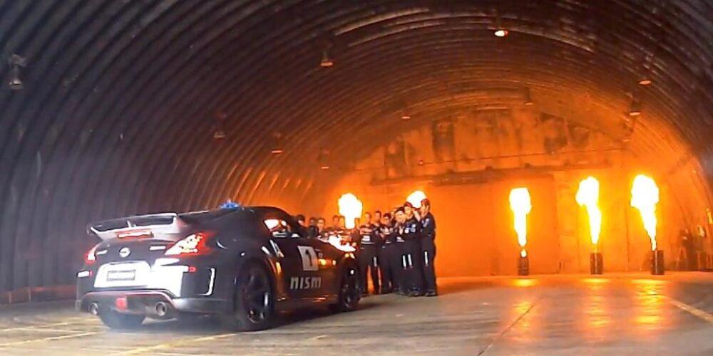 """""""El Rey del Drift"""" imparte cátedra a finalistas de Nissan GT Academy"""