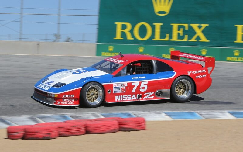 Nissan y el legendario piloto Steve Millen ruedan el 300ZX No.75