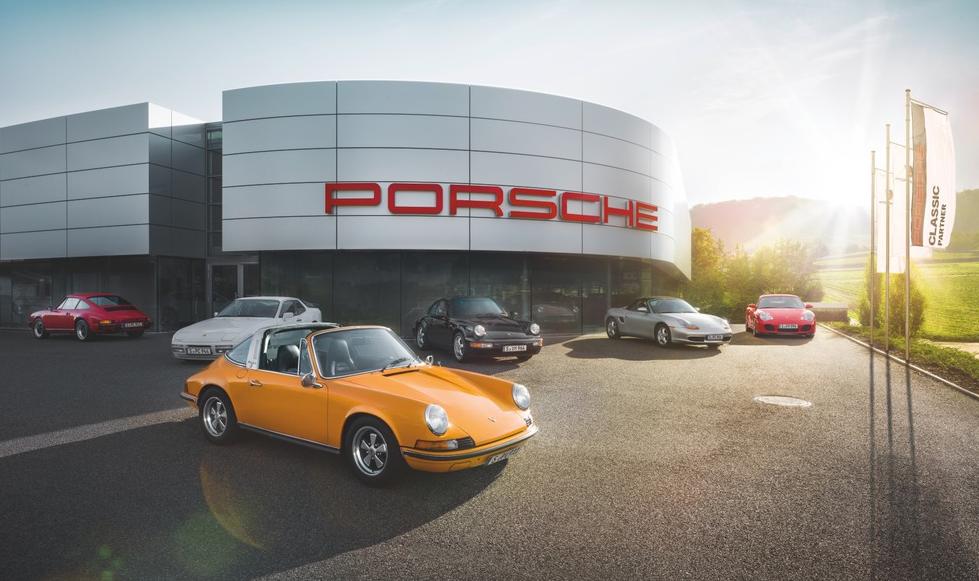 Porsche amplía la red de servicios para autos clásicos