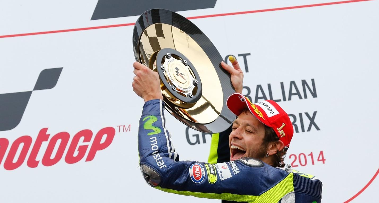 Valentino Rossi consigue su segundo triunfo de la temporada