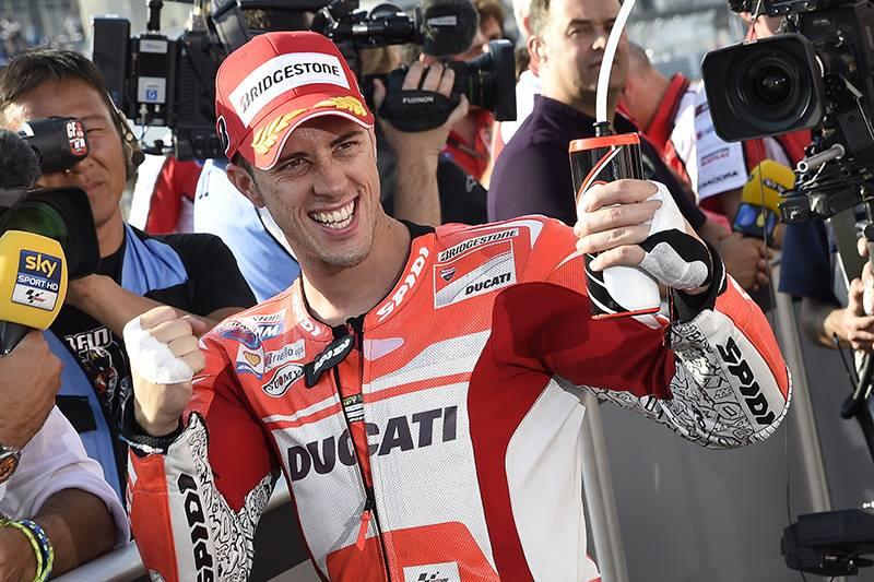 Pole Position en Japón para Dovizioso y Ducati