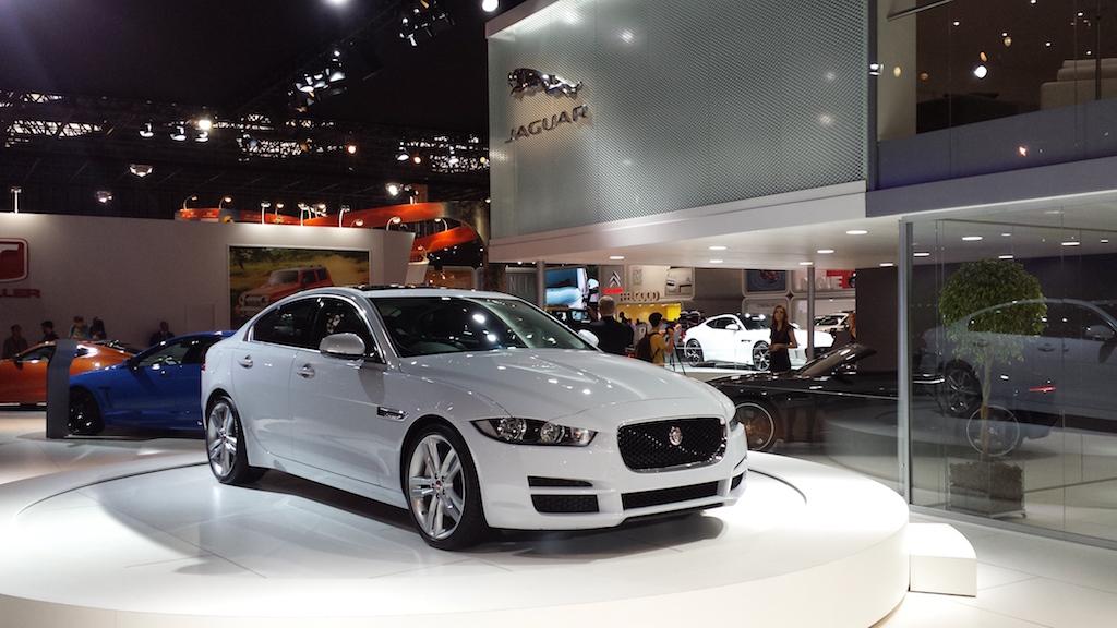 El Jaguar XE presentado en Brasil