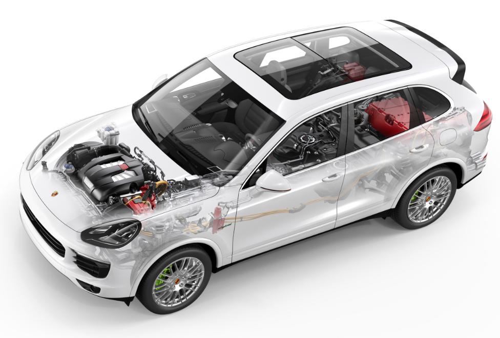 Cayenne SE – Hybrid desde París