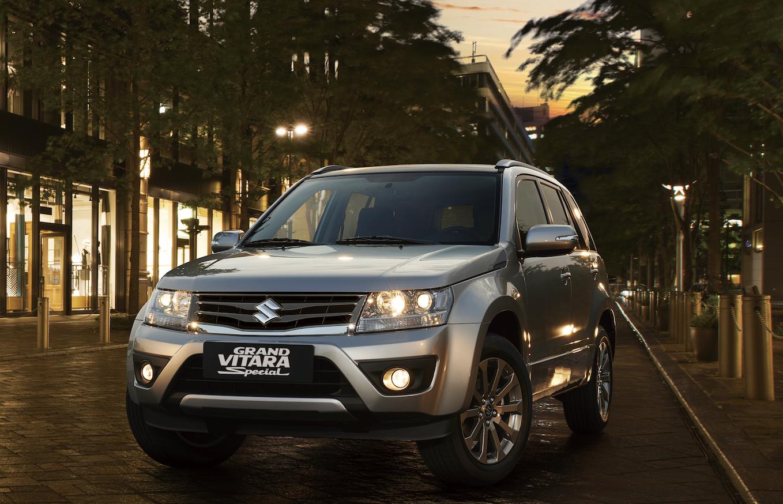 Suzuki enriquece gama: presenta Grand Vitara Special