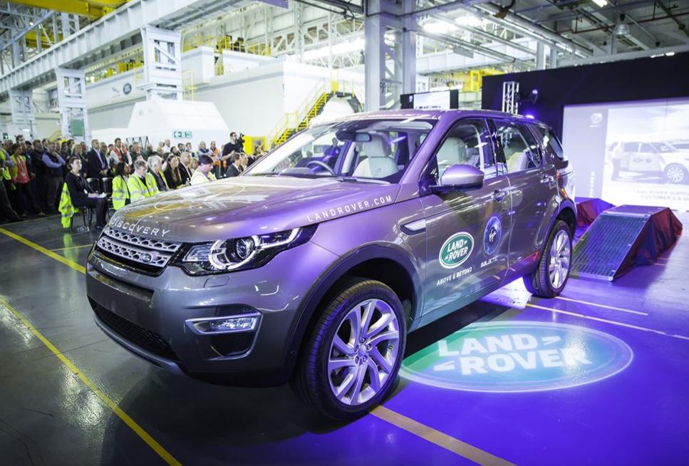 Inicio de producción de la nueva Land Rover Discovery Sport