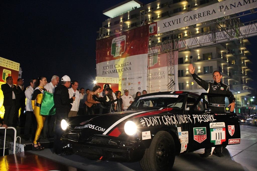 Lluvioso recibimiento le da Oaxaca a La Carrera Panamericana