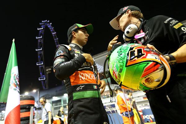Sergio Pérez, listo para el Gran Premio de Japón