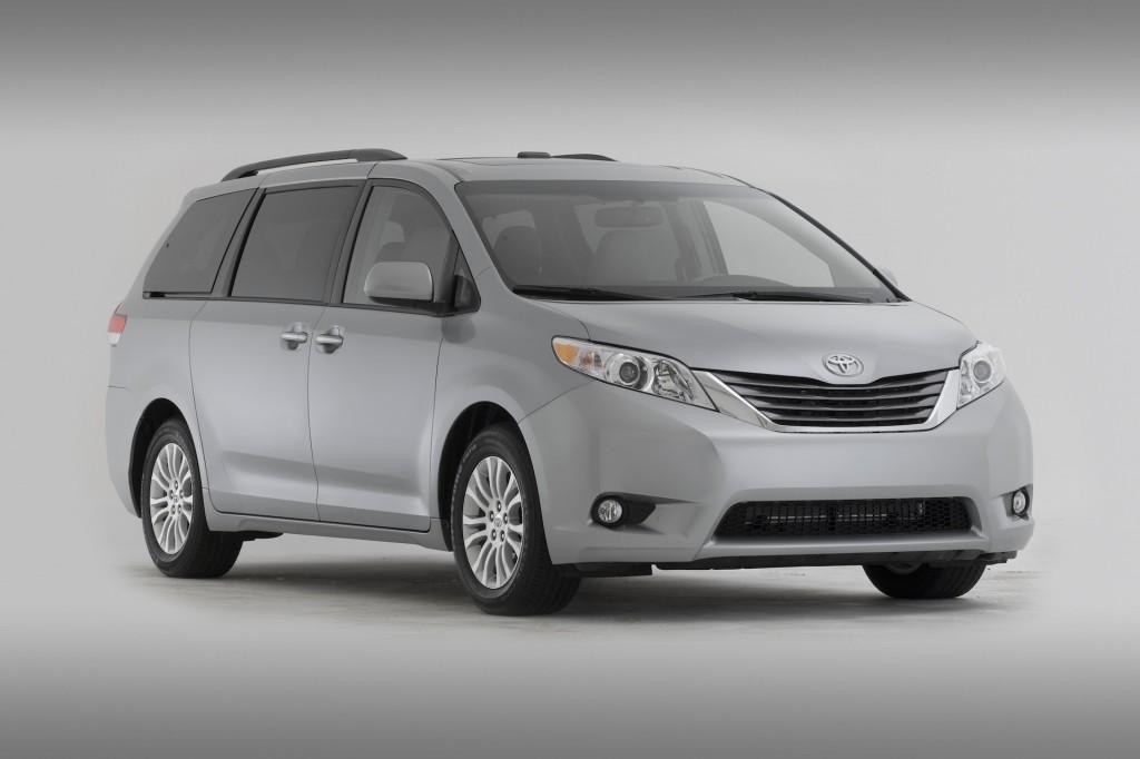 Toyota hace llamado a revisión de la Sienna 2015