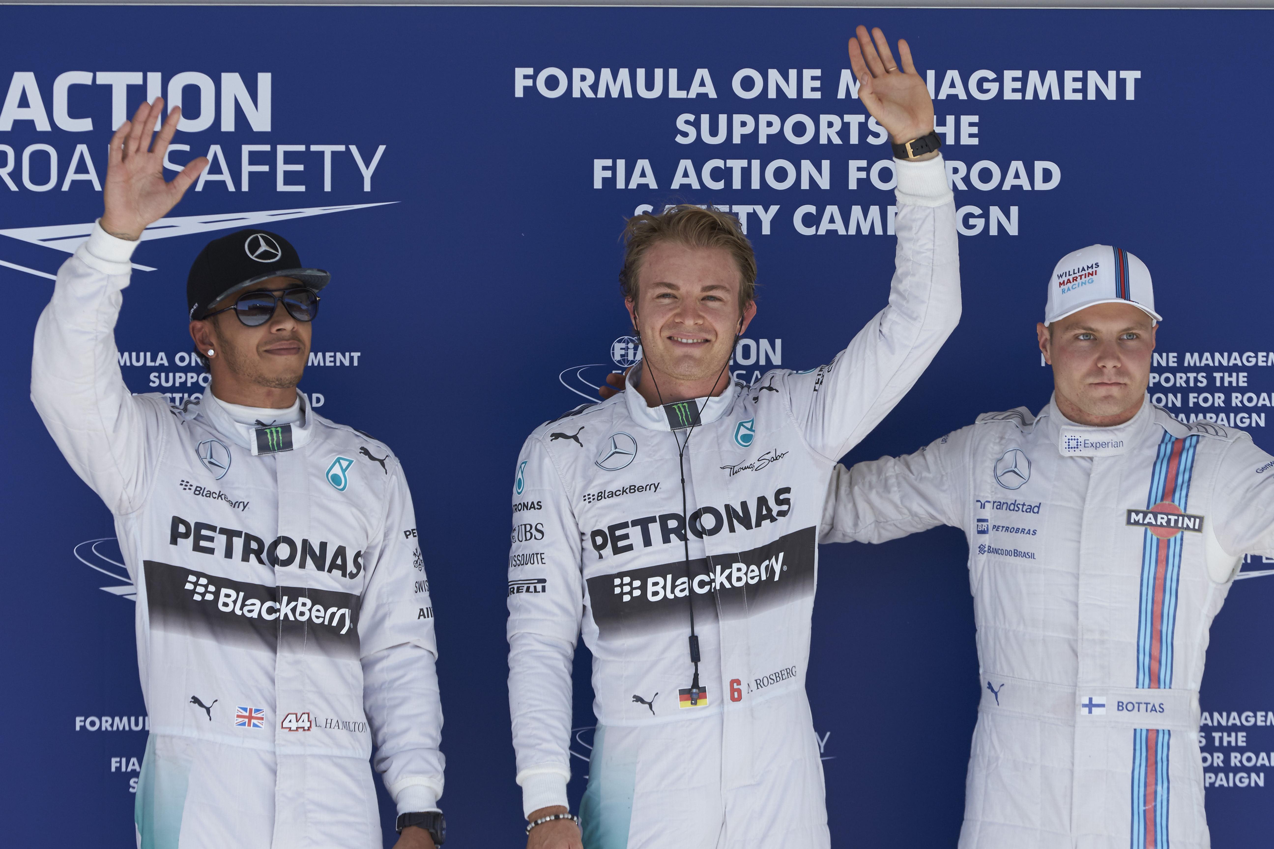 Rosberg se apodera de la Pole en Austin