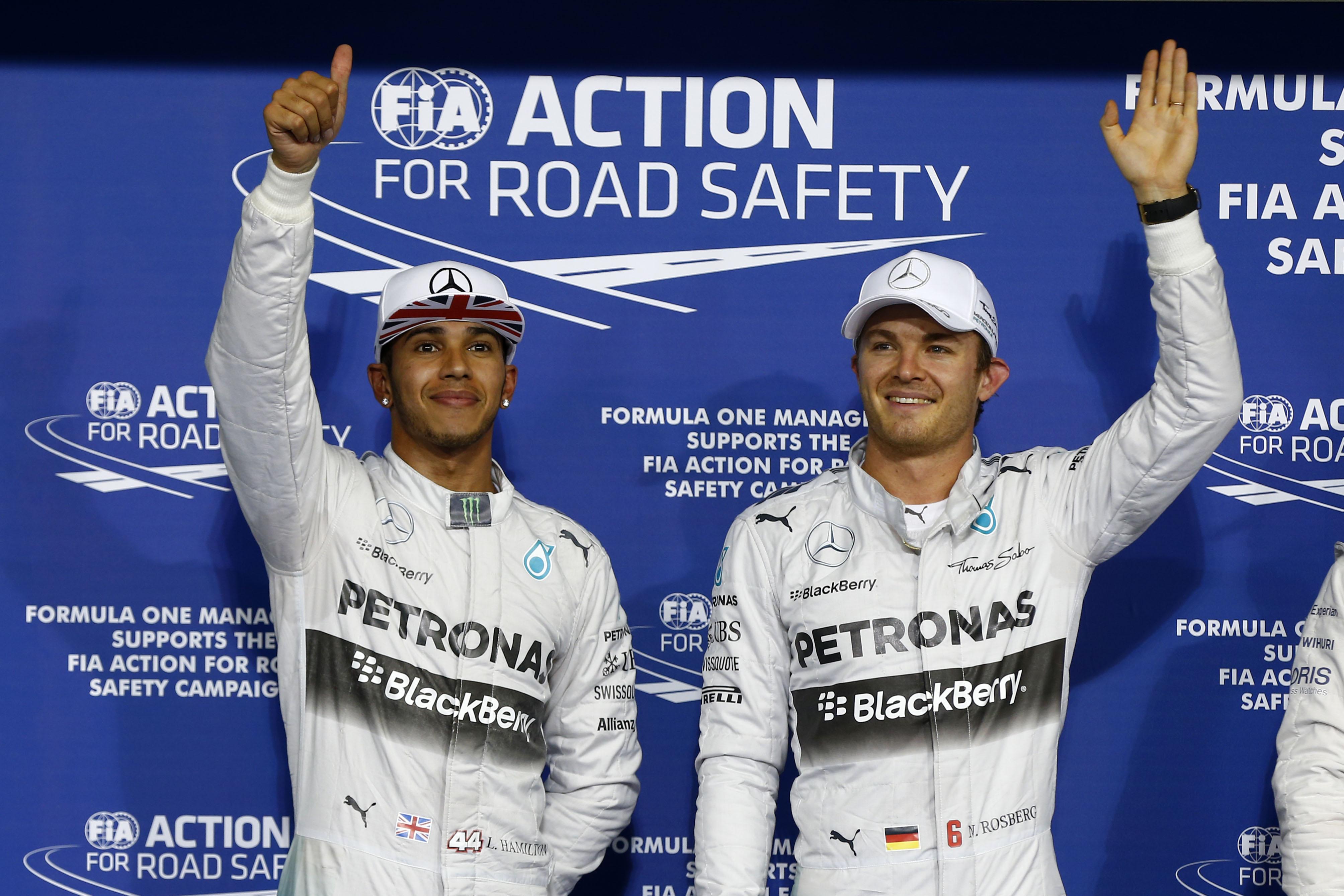 Rosberg mantendrá presión alta en Lewis para tratar de obligarlo a un error como en Brasil