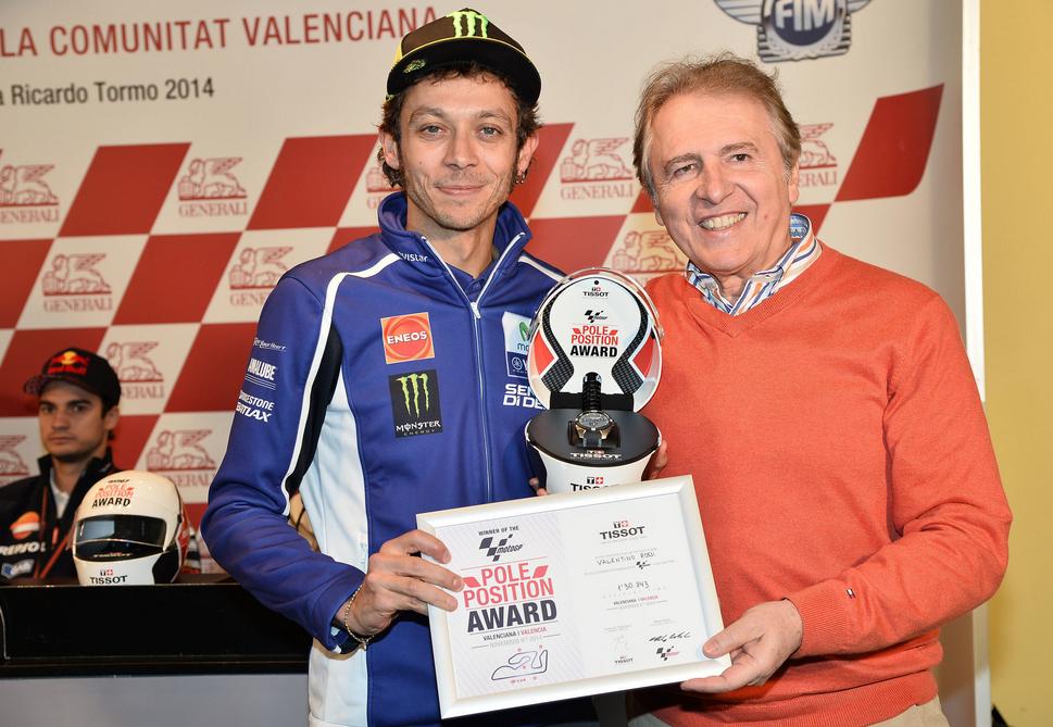 Valentino, el poleman de TISSOT