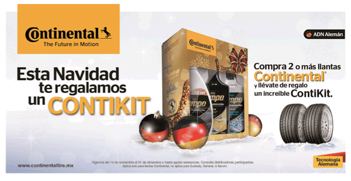 Continental lanza ContiKit