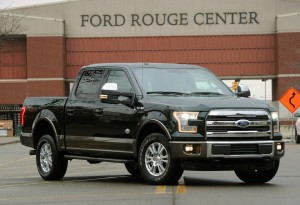 Ford Begins Building All-New F-150
