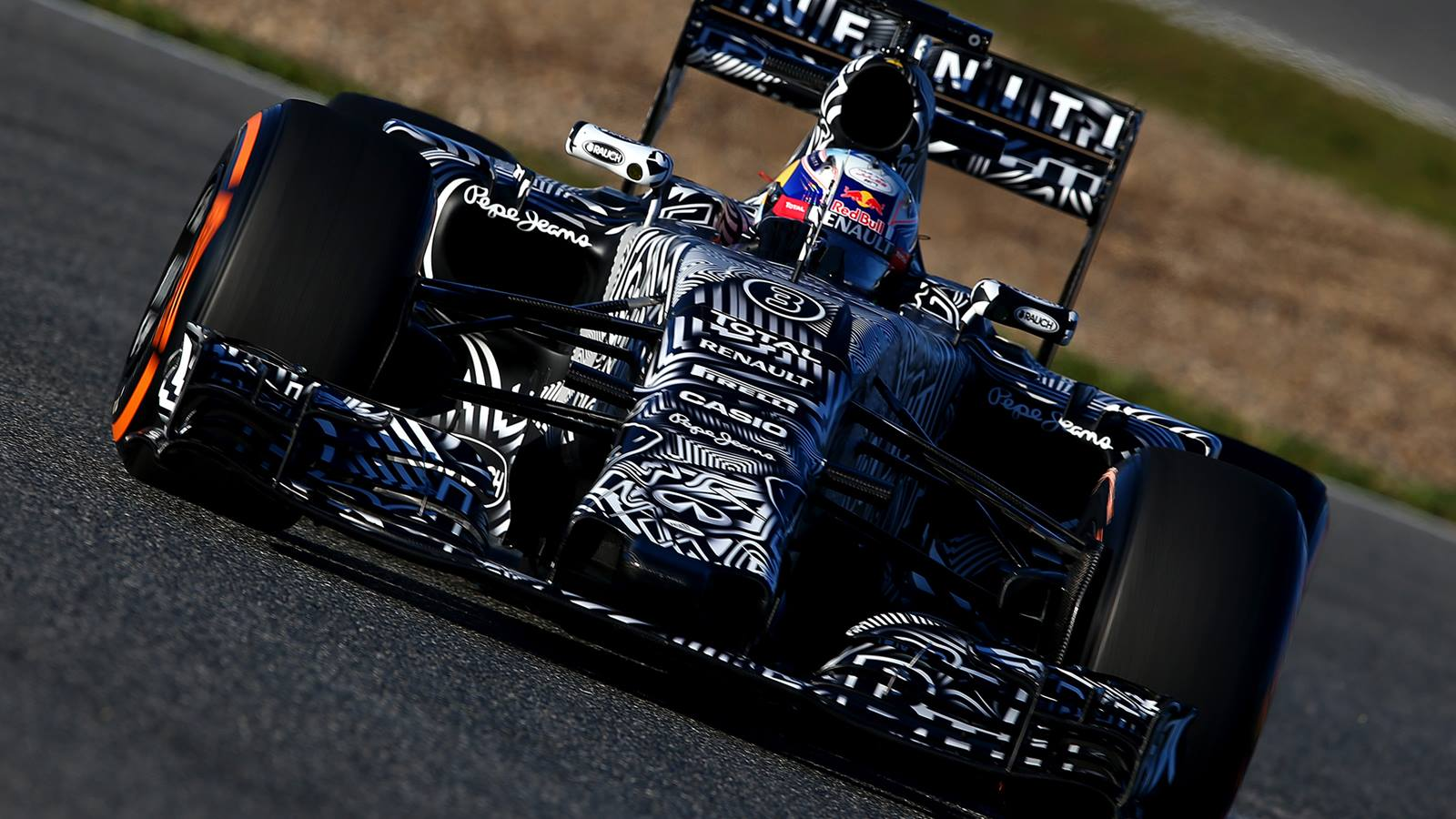 Nueva suspensión trasera para el Red Bull RB11