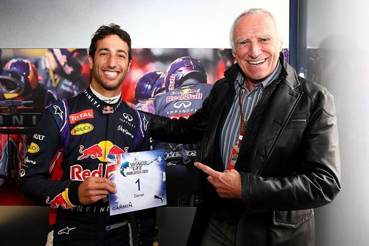 "Daniel Ricciardo competirá en la carrera ""WINGS FOR LIFE WORLD RUN"""