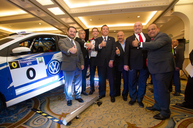 Presentan el WRC Rally México