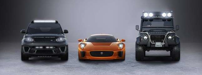 """Jaguar Land Rover Anuncian su Participación en el Próximo Film de James Bond """"Spectre"""""""