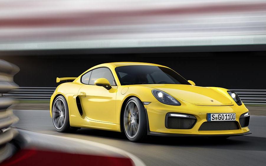 Punto de referencia en su segmento: Porsche Cayman GT4
