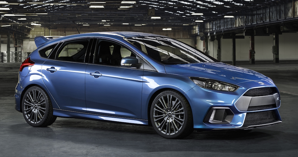 GINEBRA: FORD FOCUS RS