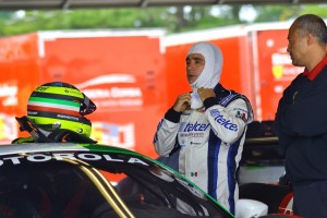 Ricardo Pérez de Lara - Piloto oficial Ferrari de Risi Competizione