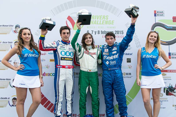 Pole y podio de Pepe Sierra en el Drivers Challenge en Cancún