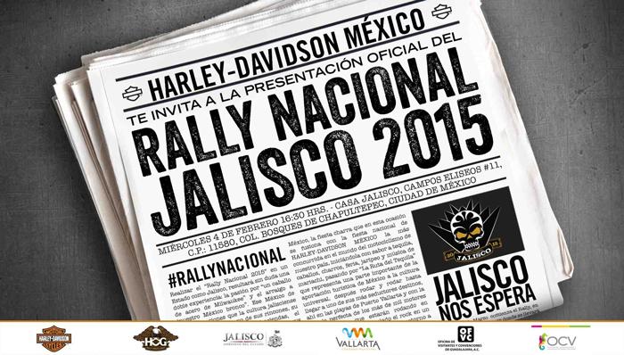 """""""HARLEY-RALLY""""… Rally Nacional Jalisco 2015"""