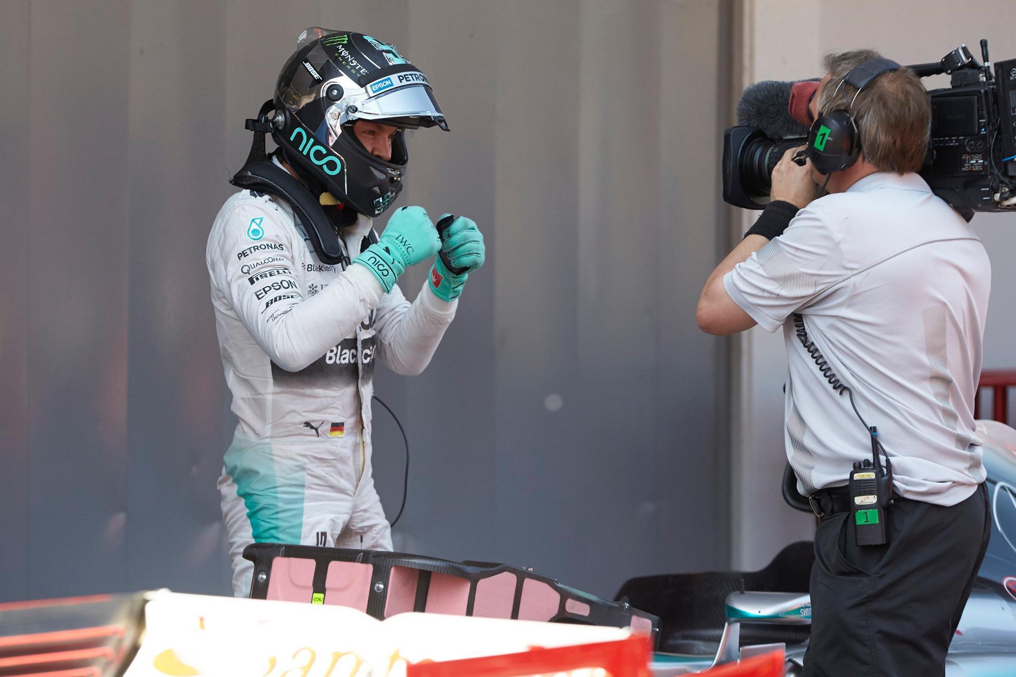 Nico Rosberg consigue su primera pole de la temporada en España