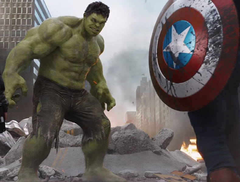 ¿Qué auto manejarían los Avengers?
