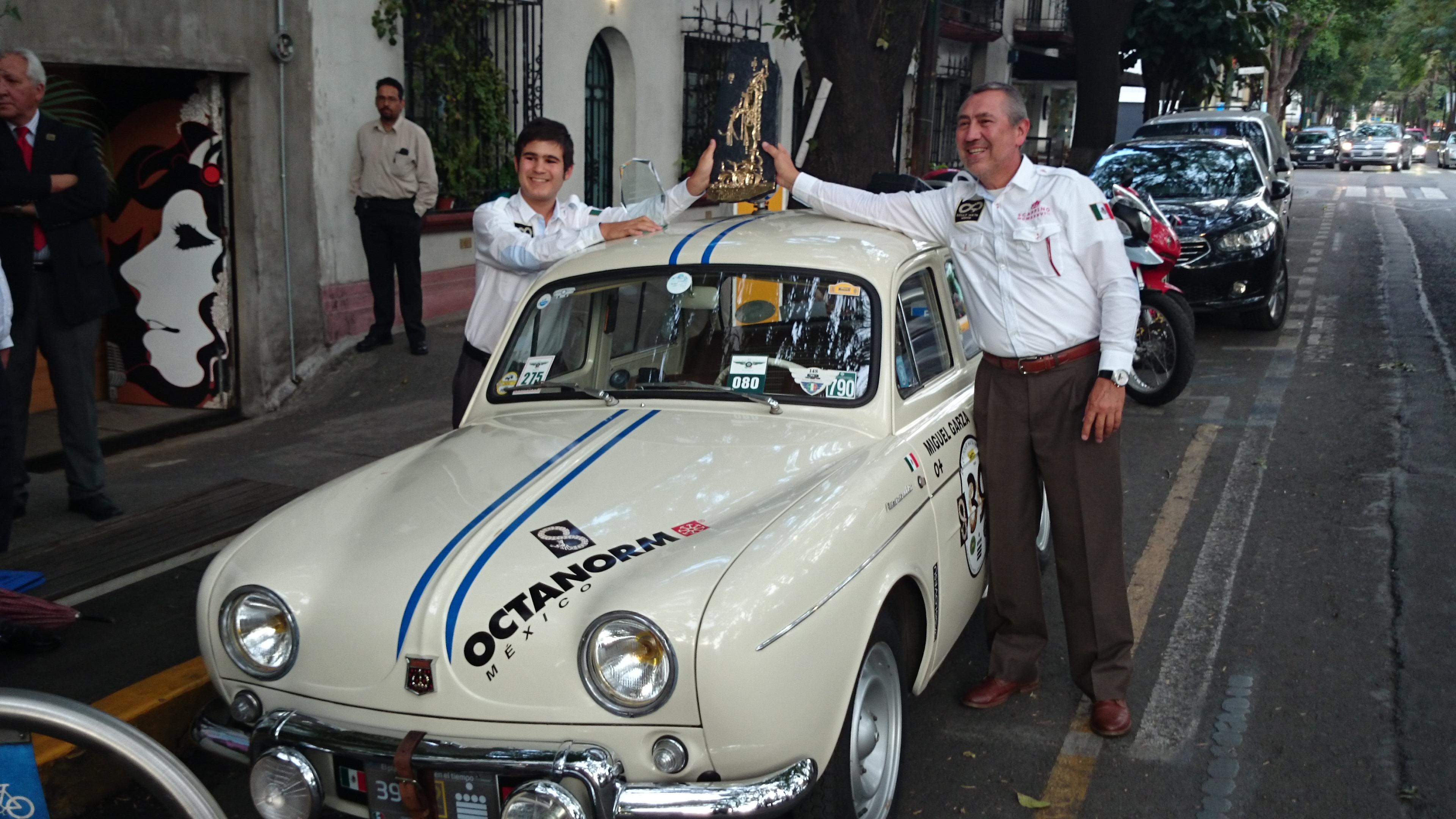 Renault impone su ley en el Rally Maya