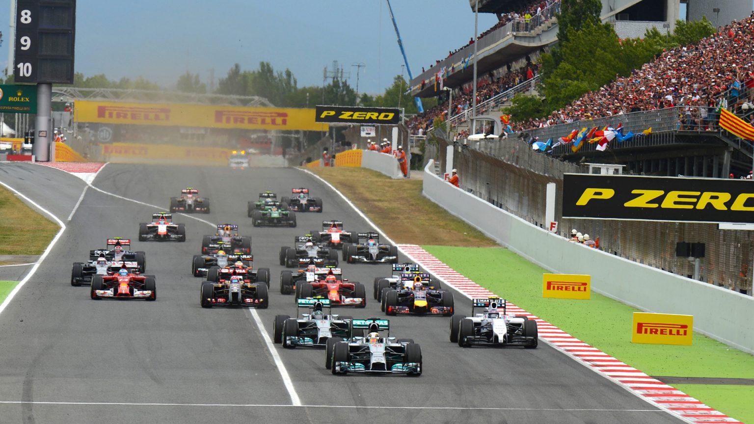 Los coches de Fórmula 1, serán de 5 a 6 segundos más rápidos en 2017