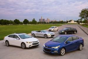 Los cinco nuevos integrantes de Chevrolet
