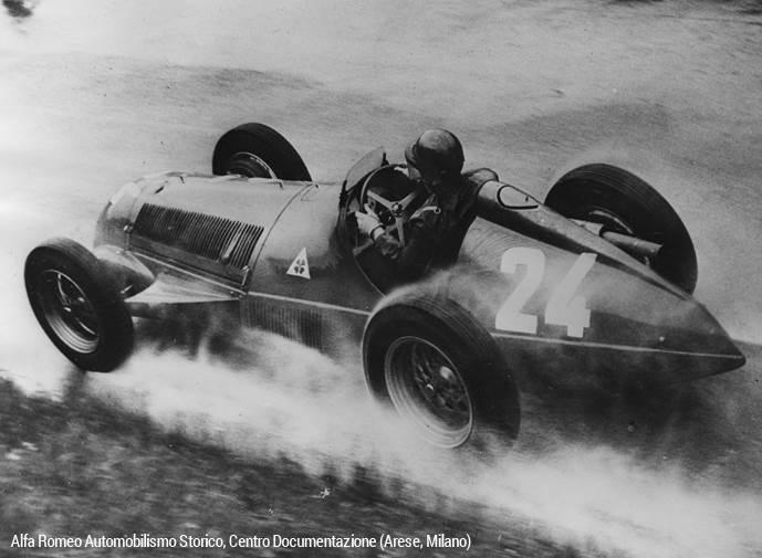 Recordando a Juan Manuel Fangio, el Campeón que inició su leyenda con Alfa Romeo