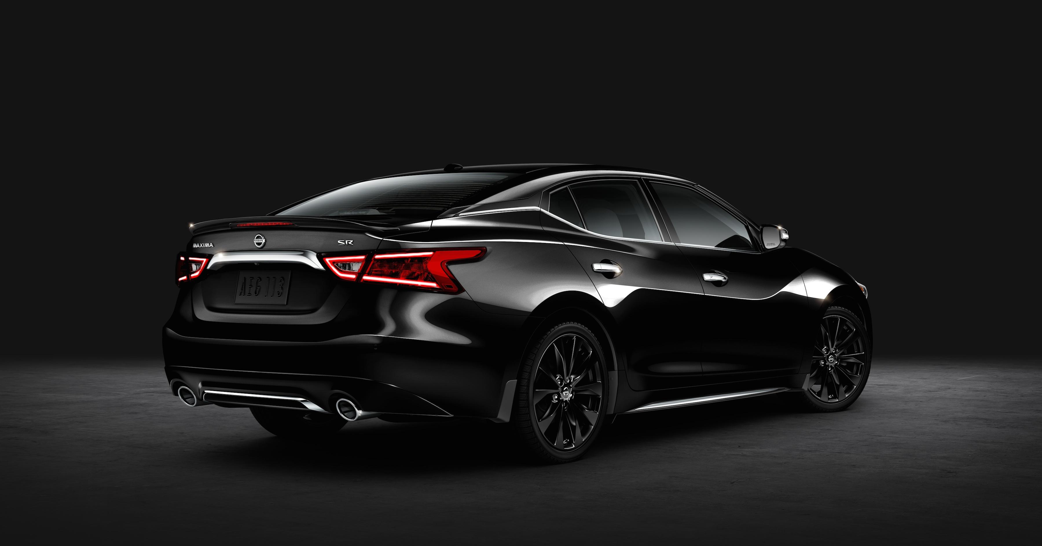 Nissan presenta la edición especial del Maxima SR Midnight 2016