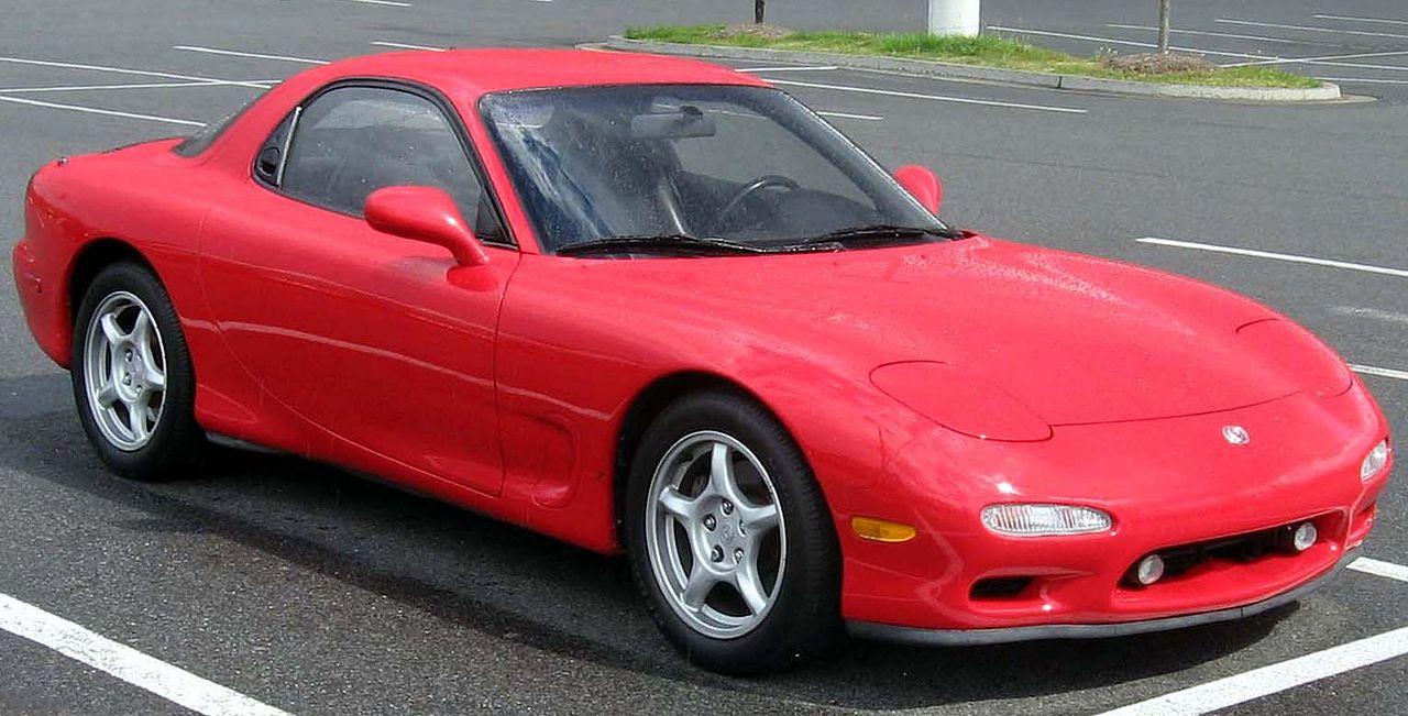 Mazda-RX-7-FD, primera victoria en motoracing.