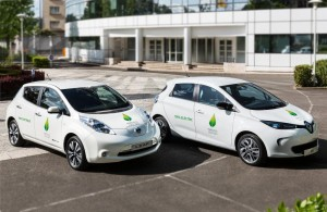 Renault-Nissan Alliance official COP21 passenger car partner with zero-emission fleet