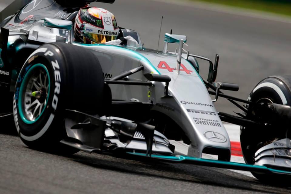 Hamilton consigue su séptima pole consecutiva