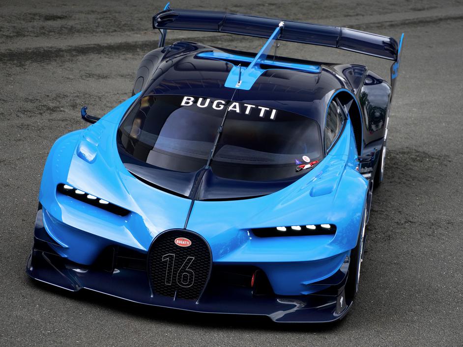 Bugatti Vision Gran Turismo, la previa a Chiron